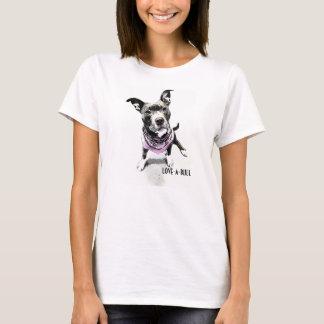 love-a-bull ladies tshirt
