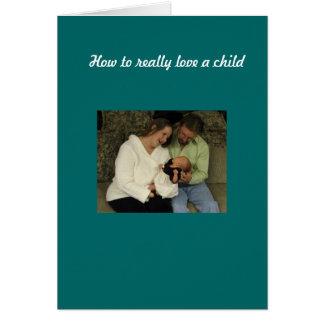 Love a child card