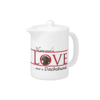 Love a Dachshund Teapot