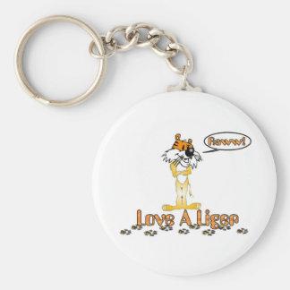Love A Liger Keychain