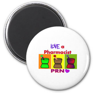 Love a Pharmacist PRN T-Shirts & Gifts Refrigerator Magnet