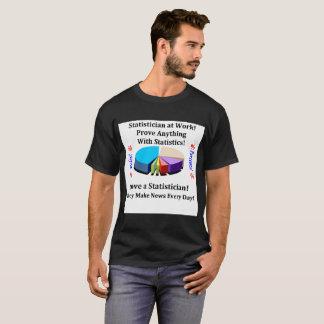 Love a Statistician percents poles news T-Shirt