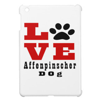 Love Affenpinscher Dog Designes iPad Mini Covers
