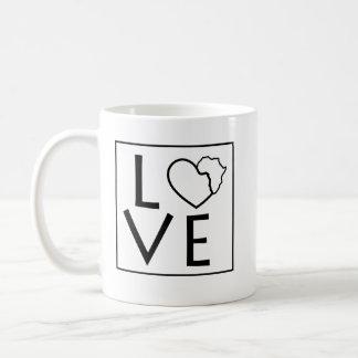 Love Africa Coffee Mug