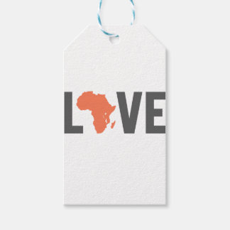 love africa gift tags