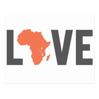 love africa postcard