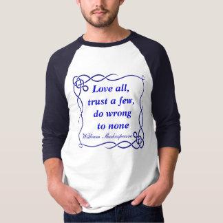 Love all mens shirt