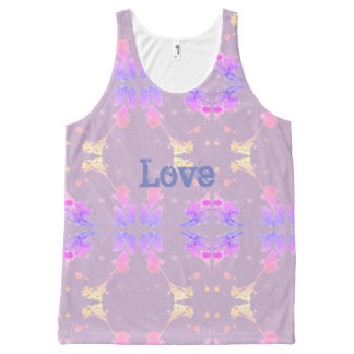 love All-Over-Print tank top