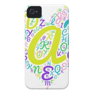 love alphabet iPhone 4 case