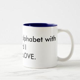 Love Alphabet - Mug