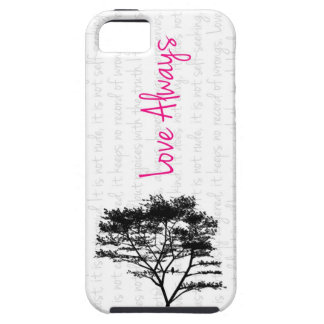 Love Always - Bird in Tree iPhone 5 Case