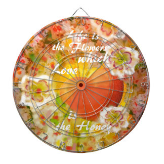 Love always is the honey in the life. dartboard