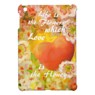 Love always is the honey in the life. iPad mini case