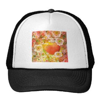 Love always is the honey in the life. trucker hat