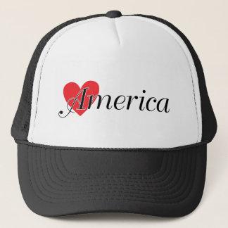 LOVE AMERICA HAT