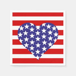 Love America Paper Napkin