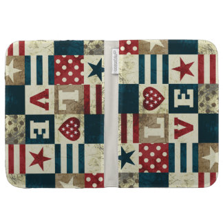 Love America Patriotic Cases For The Kindle