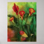 Love Among The Lilies Poster/Print