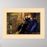 Love among the ruins -  Pre-Raphaelite Poster