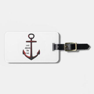Love Anchors The Soul Luggage Tag