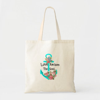 Love Anchors the Soul Tote Bag