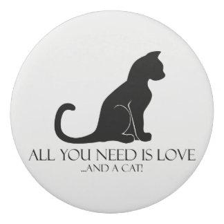 Love and A Cat Eraser