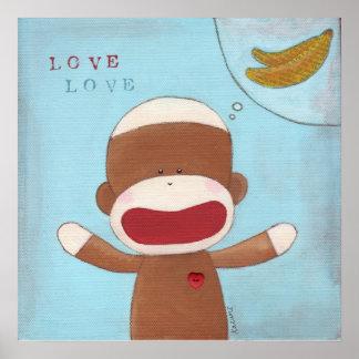 Love and Bananas Poster