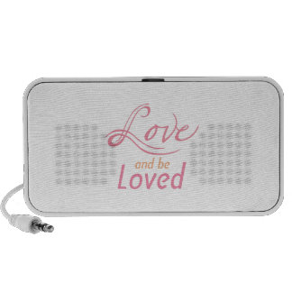 Love And Be Loved iPod Speaker