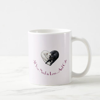 """Love and Cats"" Mug"
