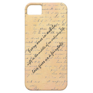 Love and Fairytale Quote iPhone 5 Case