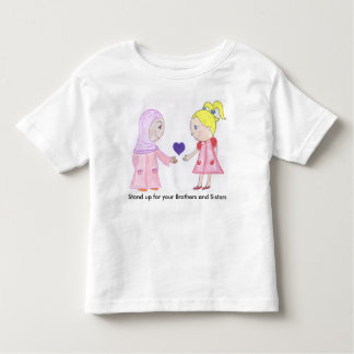 Love and Friendship Heal the World Toddler T-shirt