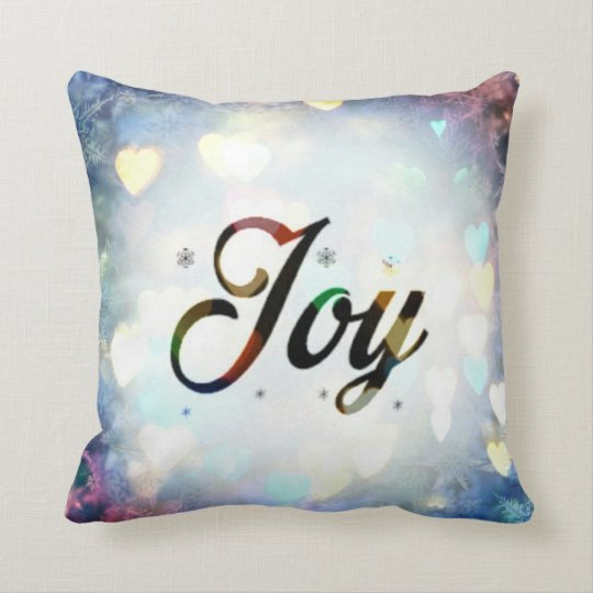 Love and Joy Throw Pillow