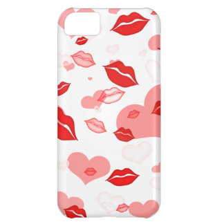 Love and kisses iPhone 5C covers