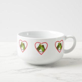 Love and Kisses Soup Mug