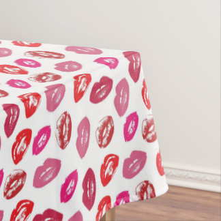 Love And Kisses Tablecloth
