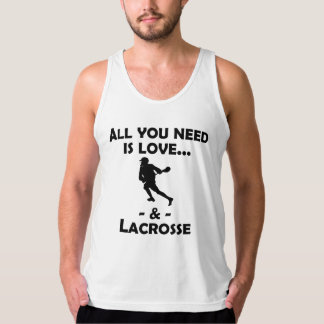 Love And Lacrosse Tank Top