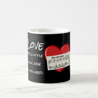 Love and Music -- Coffee Mug