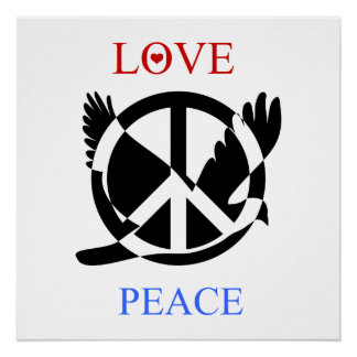 Love And Peace 2 Perfect Poster