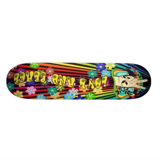 Love and Peace Skateboard