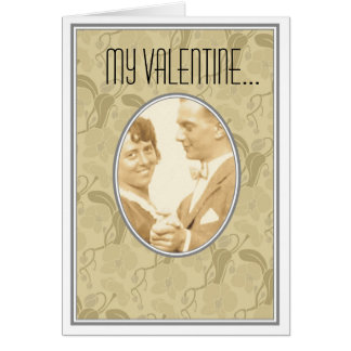 Love and romance greeting card