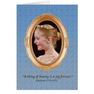 Love and Romance with Joy and Beauty Greeting Card