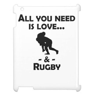 Love And Rugby iPad Cover