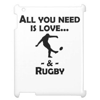 Love And Rugby Cover For The iPad