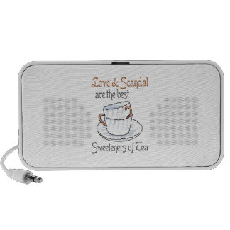 LOVE AND SCANDAL NOTEBOOK SPEAKERS