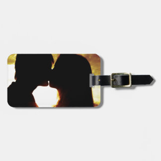 Love and summer luggage tag