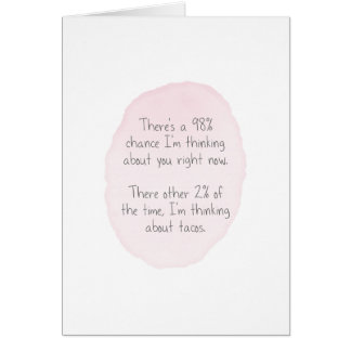 Love and Tacos Card