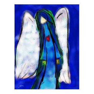 Love Angel Postcard