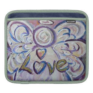 Love Angel Word iPad Sleeve Case