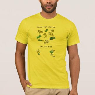 Love animals. Do not eat them T-Shirt