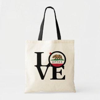 LOVE Aptos Tote Bag